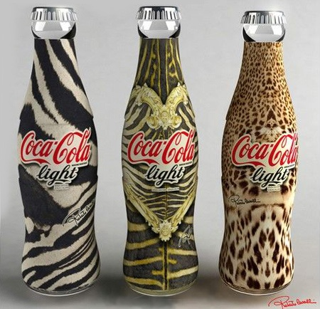 Coke designed by Roberto Cavalli
