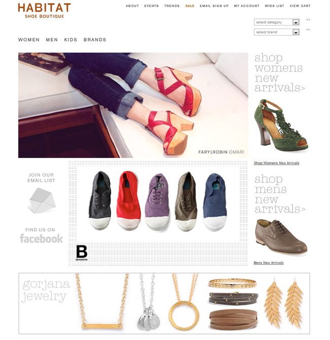 Habitatshoes Screenshot